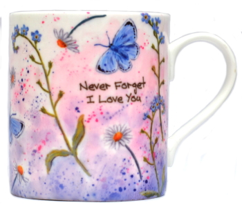 Mugs & Coasters-Forget-me-not