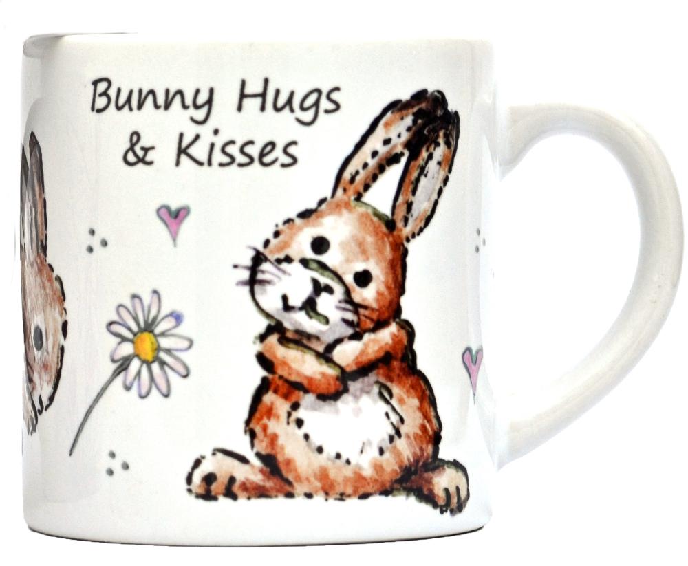 Childs Mug-Bunny Hugs