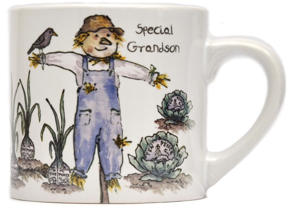 Child's Mug-Scarecrow - Boy