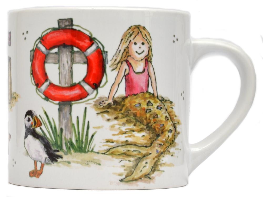 Childs Mug-Mermaid