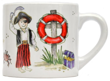 Child's Mug-Pirate