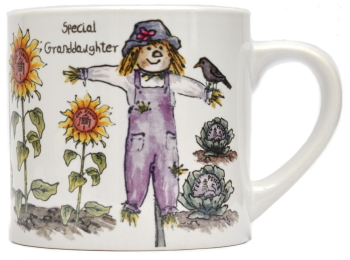 Child's Mug-Scarecrow - Girl