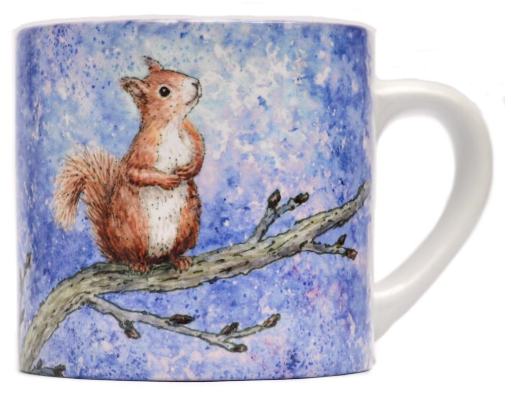 Childs Mug-Squirrel Star