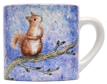 Child's Mug-Squirrel Star