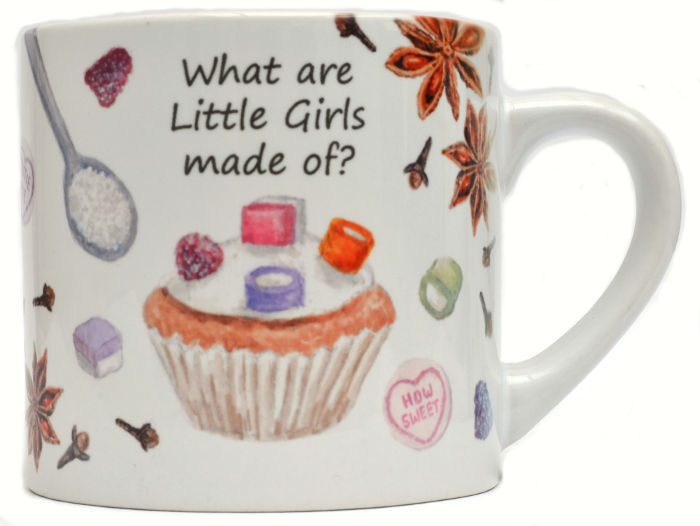 Childs Mug-What are little boys made off?