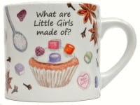 Childs Mug-What are little Girls made of?