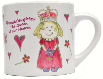 Child's Mug-Queen of Hearts