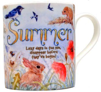 Mugs & Coasters- The Seasons - Summer