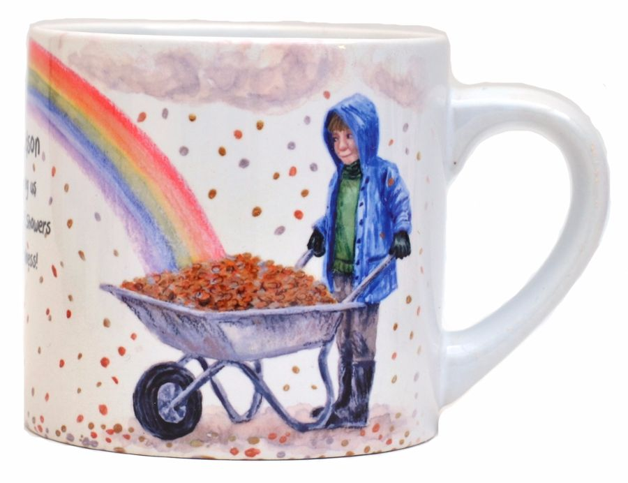 Childs Mug-Rainbow Girl