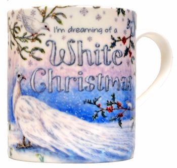 Mugs & Coasters-White Christmas