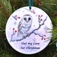 Bauble - Owl