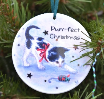 Bauble  - Purr-fect Christmas Kitten