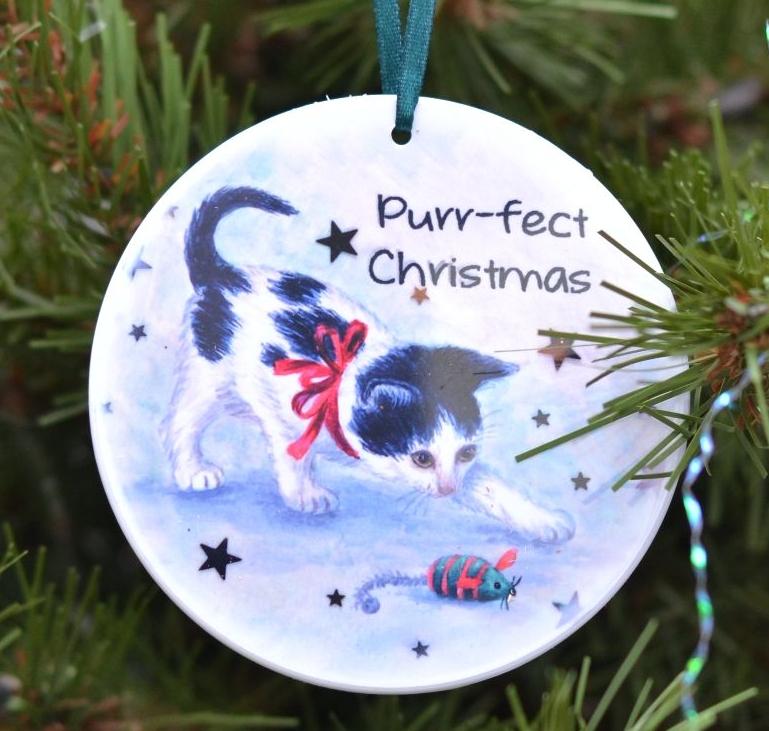 Bauble or Mini Christmas Bags - Owl