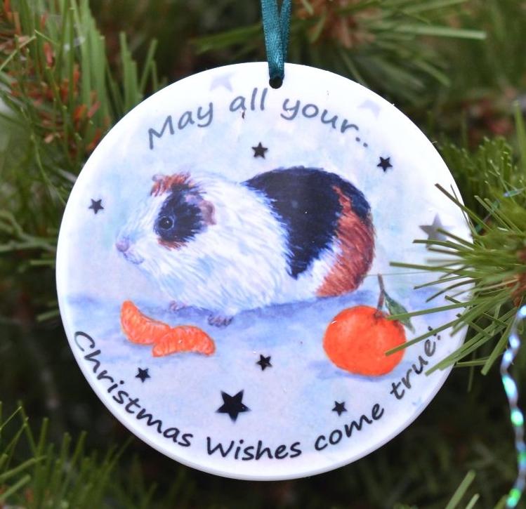 Bauble or Mini Christmas Bags - Purr-fect Christmas Kitten