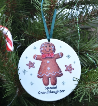 Bauble - Gingerbread Girl
