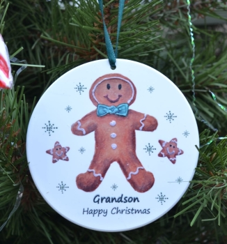 Bauble - Gingerbread Boy