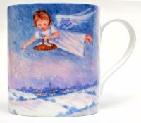 Mugs & Coasters-Snow Angels