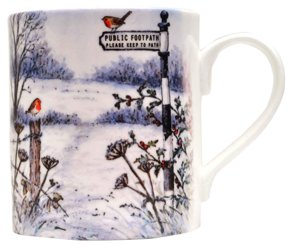 Mug-Winter Footpath