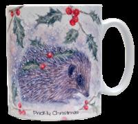 Mugs & Coasters-Prickly Christmas