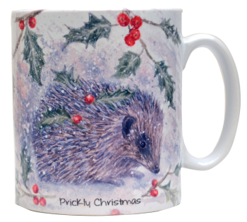 Mugs & Coasters-Prickly Christmas