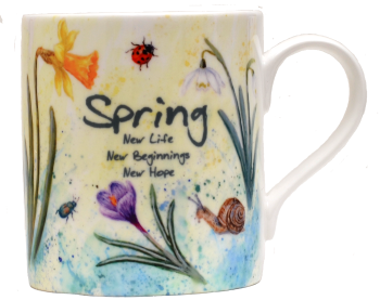 Mugs & Coasters-Spring Mix