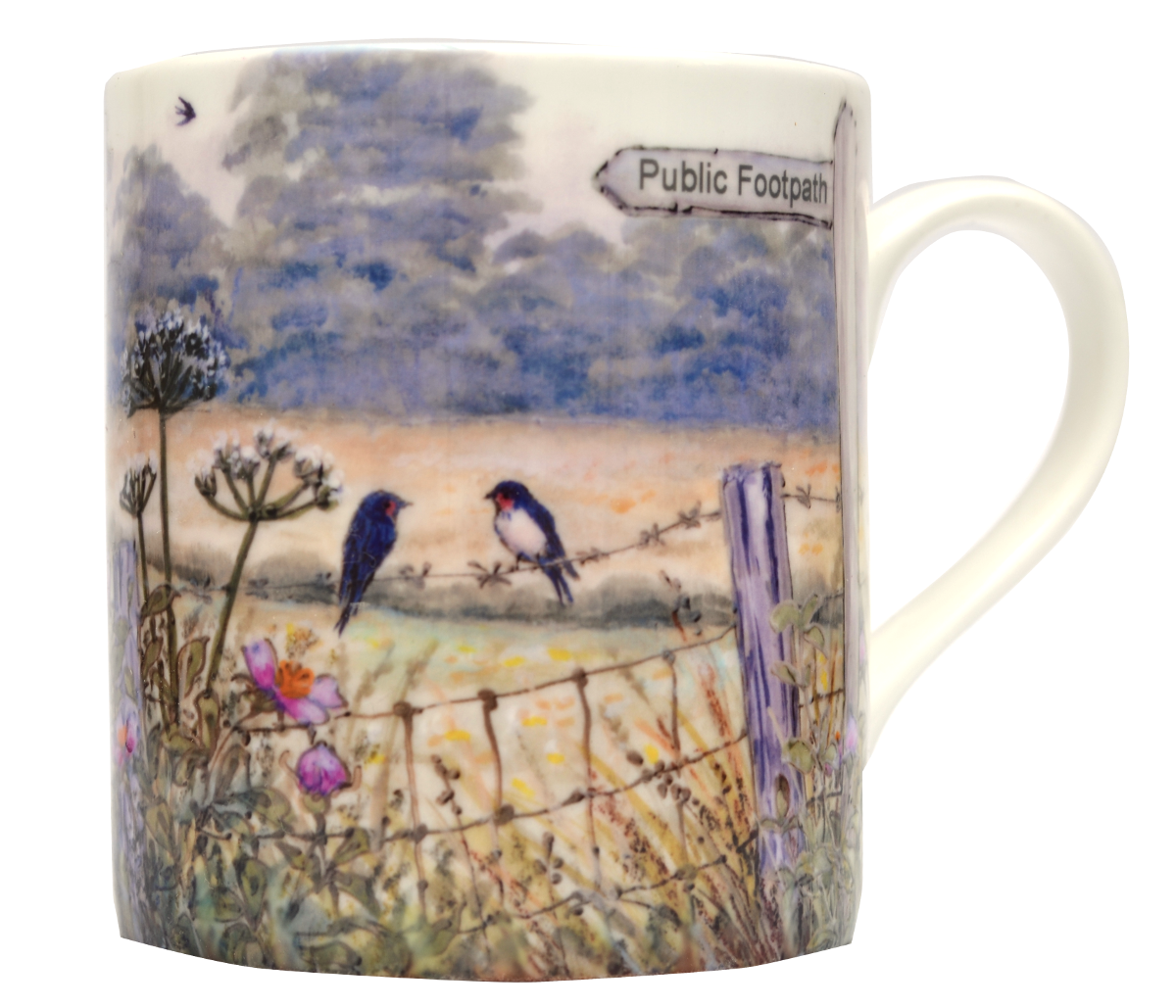 Mugs & Coasters-A Summers Day-Footpath
