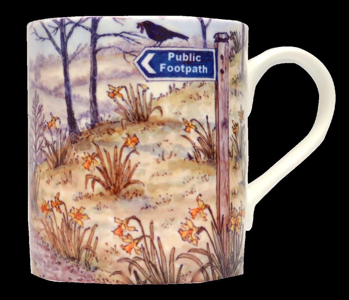 Mugs & Coasters-Spring Walk -Daffodil Dales