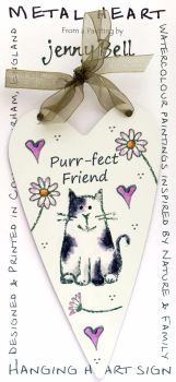 Metal Heart- Purr-fect Friend
