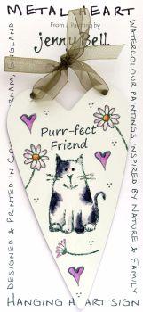 Metal Heart- Purr-fect Friend