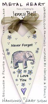 Metal Heart- Never Forget Elephant
