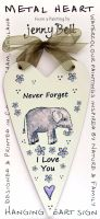 Metal Heart- Never Forget Elephant