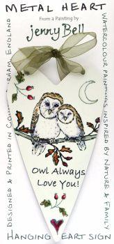 Metal Heart- Owl Love