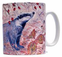 Mug or Coaster-Badger
