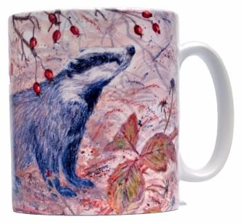 Mug or Coaster-Badger