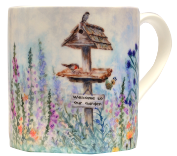Mugs & Coasters-Bird Table