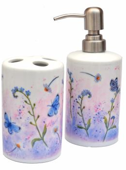 Bathroom Set - Forget-me-not
