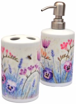 Bathroom Set -Freesia Mix