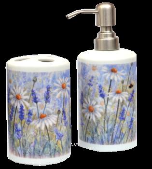 Bathroom Set -Lavender & Daisy