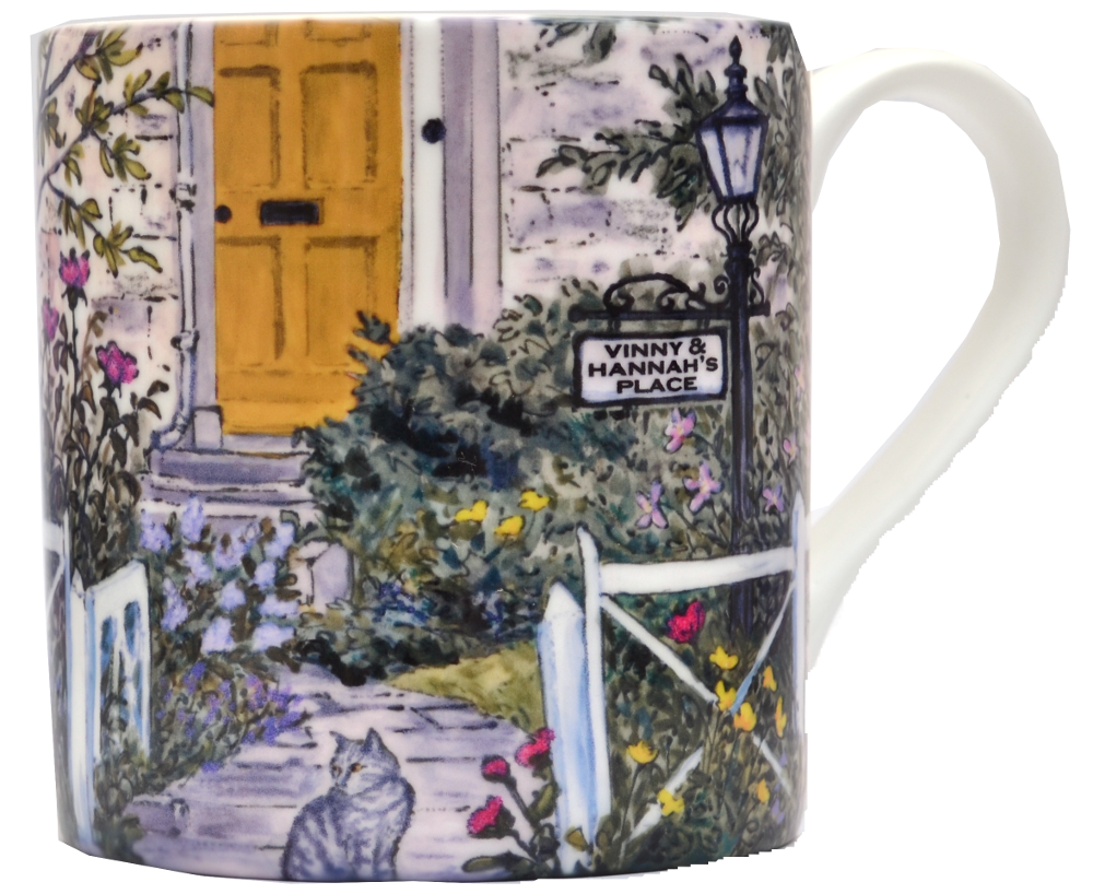 Mugs & Coasters-Front Door