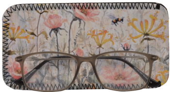 Glasses Case - Honeysuckle & Roses
