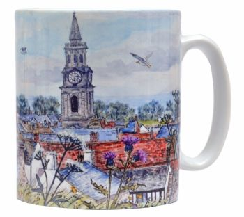 Mugs & Coasters-Berwick-upon-Tweed - Rooftops