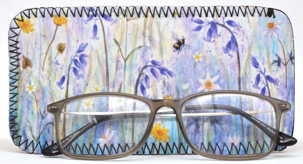 Glasses Case - Poppies