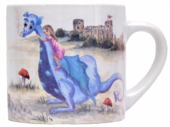 Child's Mug-Dragon Girl
