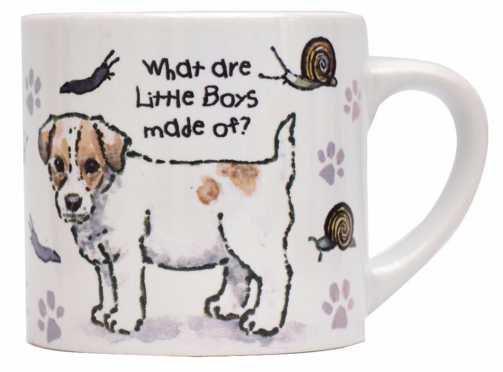 Child's Mug-What are little boys made of?