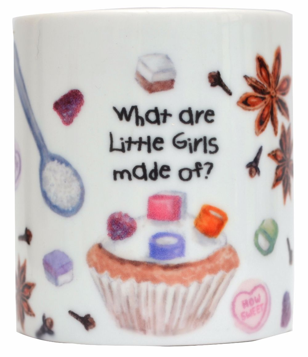 Moneybox-What are little girls made of?