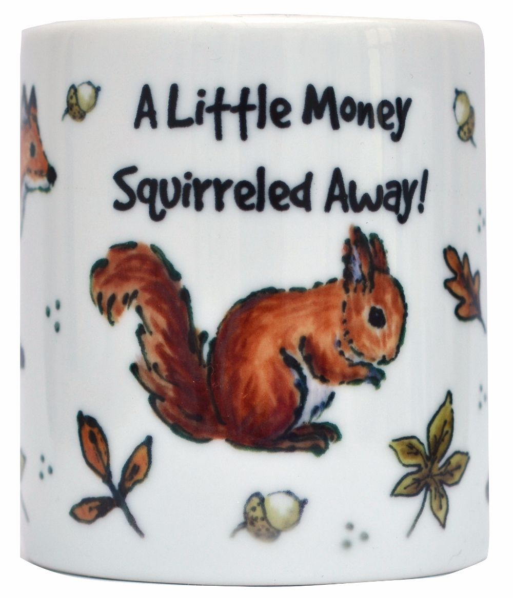 Moneybox-Squirrel