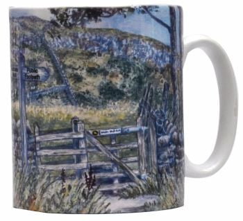 Mugs & Coasters-Hadrian's Wall- entrance gate