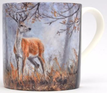 Mug or Coaster-Autumn Stag