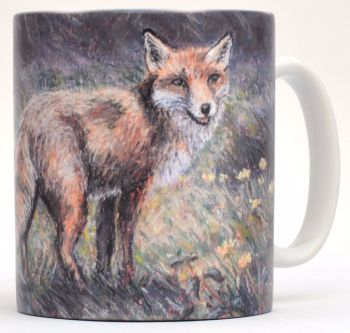 Mug or Coaster-Fox