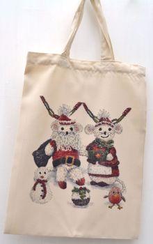 Bag - Knitted Christmas